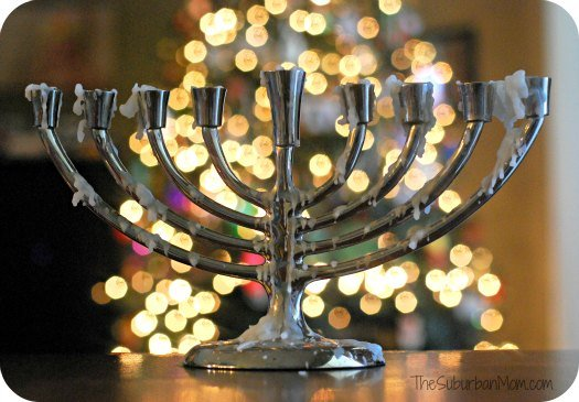 Christmas Menorah