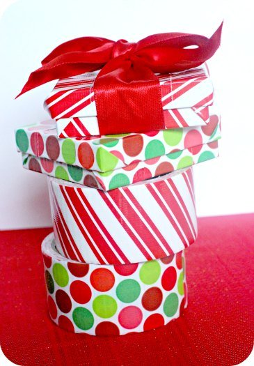 Duck Duct Tape Craft Gift Boxes