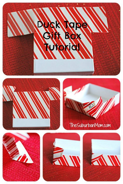 Duck Duct Tape Gift Box Tutorial