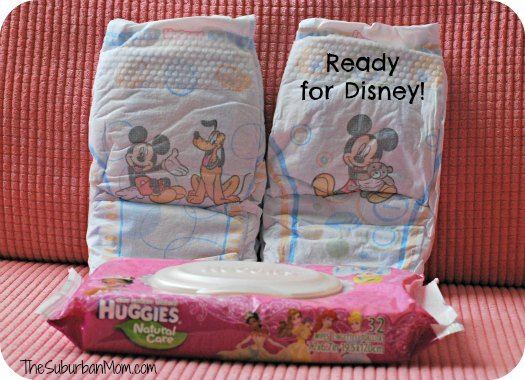 Huggies Snug & Dry Mickey Mouse Disney Diapers Wipes Princess