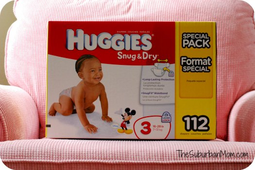 Huggies Snug and Dry Mickey Mouse Diapers