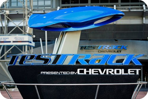 Test Track Cheverolet Disney Epcot