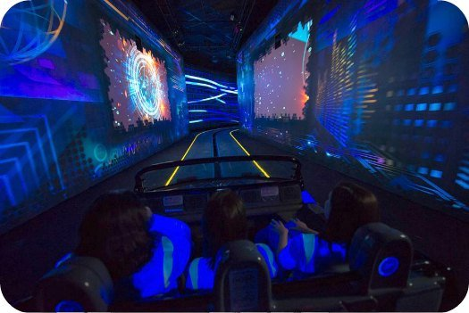 Test Track Disney Epcot Ride