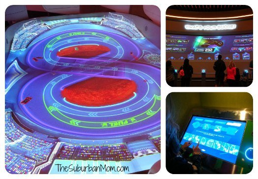 Test Track Disney Chevy Showroom