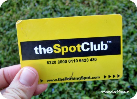 The Parking Spot Club Rewards Card
