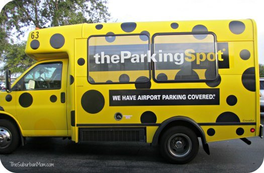 The Parking Spot Polka Dot Bus