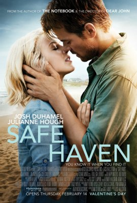 Safe Haven Movie Poster Josh Duhamel Jullianne Hough