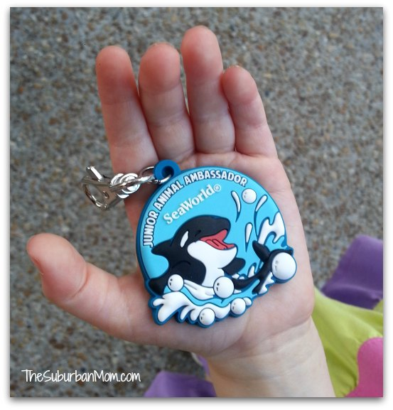 SeaWorld Orlando Just for Kids Junior Animal Ambassador Badge Orlando