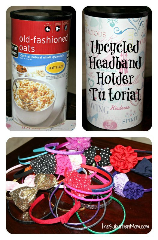 Upcycled Headband Holder Tutorial
