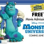 Monsters, Inc In 3D On Blu-Ray + Free Ticket To Monsters University + Coloring Pages & Giveaway