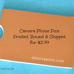 Get Your Camera Phone Pics Printed & Bound With Groovebook App