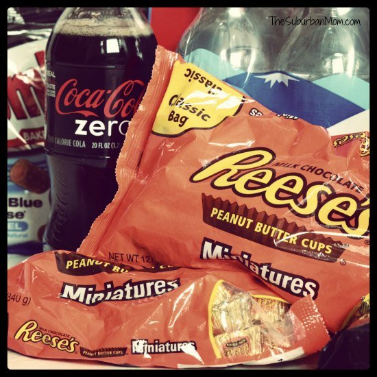 Coke Zero Reese's Pieces #SnackMadness
