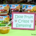 A Quick Snack For Moms: DOLE Fruit Crisps