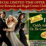 Free Child's Ticket With The Purchase Of 2 Adult Tickets To Oz At Regal Cinemas