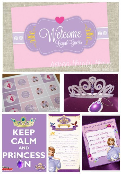 Sofia The First Crown Printable
