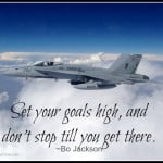 Military Air Force Jet Goals Quote Quote
