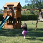 Wordless Wednesday ~ The New Swing Set