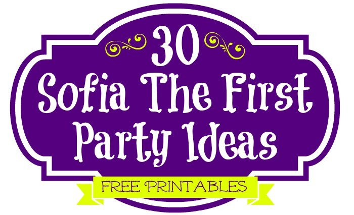 Sofia The First Disney Junior Party Ideas Coloring Pages Free Printables