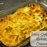 Rise And Shine With An Easy Breakfast Casserole Recipe