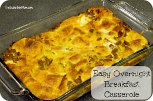 Easy Overnight Breakfast Casserole