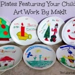 Turn Your Child's Art Work Into a Plate - MakIt