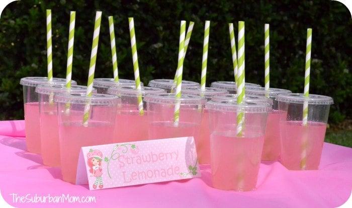 Strawberry Shortcake Birthday Party Deserts, Printables & Ideas ...
