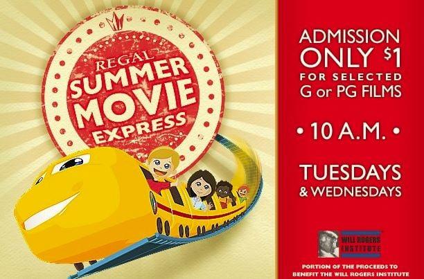 Regal Summer Movie Express $1 Movie