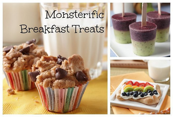 Got Milk Monsters U Breakfast Treats