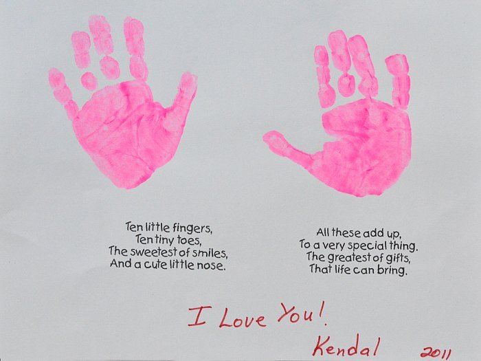 Related Pictures handprint crafts poems ehowcom pictures