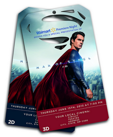 Man of Steel Movie Preview Tickets