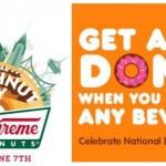 National Doughnut Day Krispy Kreme Dunkin Donuts Free