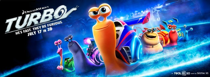 TURBO Banner DreamWorks