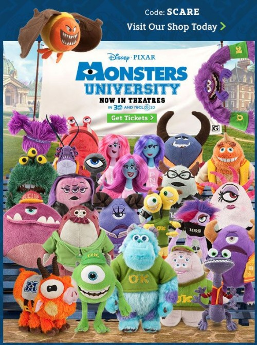 Disney movie coupon monsters university - Coupons ae