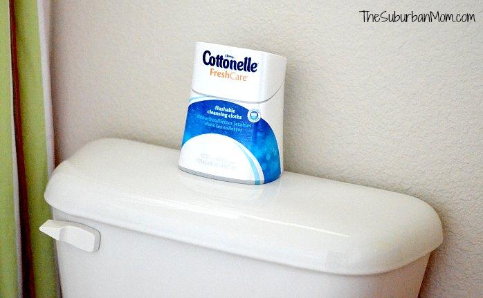 Cottonelle Flushable Wipes #CottonelleRoutine