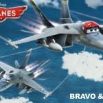 Disney Planes Bravo Echo Anthony Edwards Val Kimer Top Gun