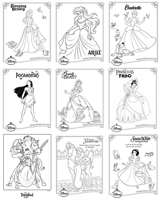 games 18780 disney princess online coloring pages - photo #33