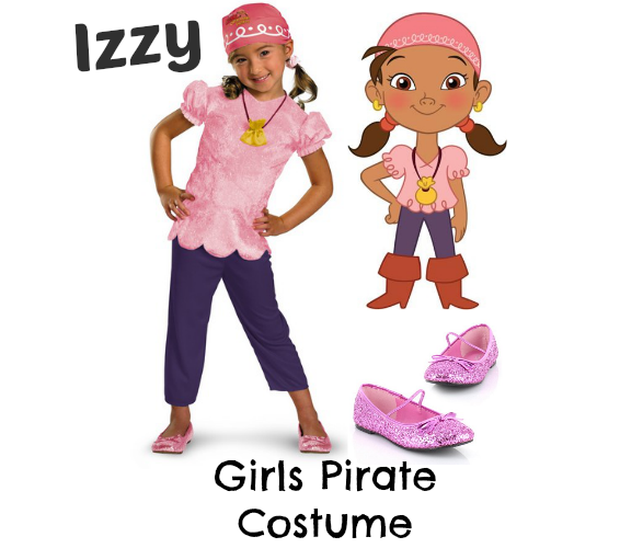 How to dress for pirate night on a disney cruise thesuburbanmom izzy pirate costume disney cruise solutioingenieria Gallery