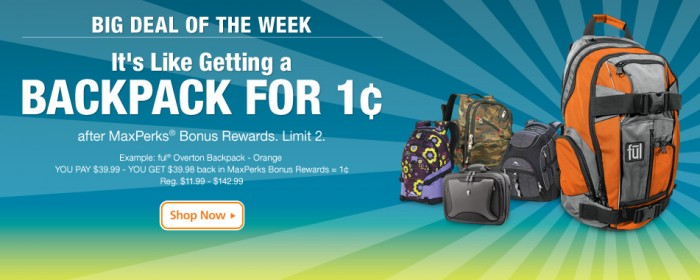 OfficeMax-Penny-Backpack-Deal