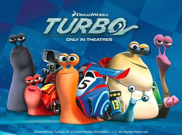 Turbo Racing Snail Poster
