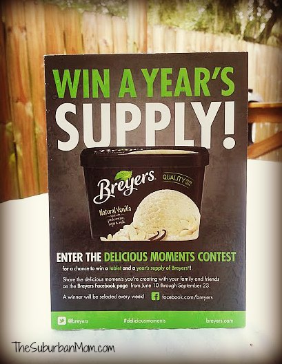 Win Year's Supply Breyers