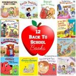 12 Back To School Kindergarten Books