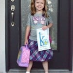 Wordless Wednesday ~ First Day Of Kindergarten