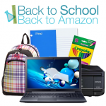 Back to School Amazon promo
