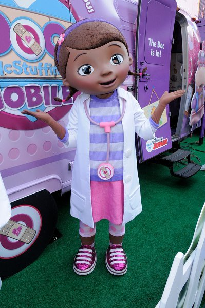 Disney's Doc McStuffins On Tour In The Doc Mobile