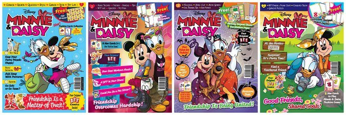 Disneys Minnie Daisy Best Friends Forever Magazine