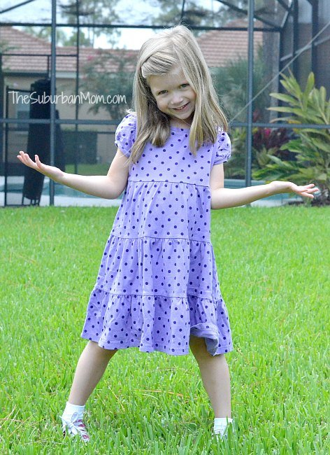 Gymboree Brightest In Class Purple Dot Dress