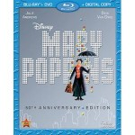 Save $5 on Mary Poppins 50th Anniversary Blu-ray + DVD
