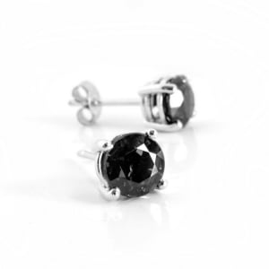 1-carat-black-diamond-solitaire-stud-earrings