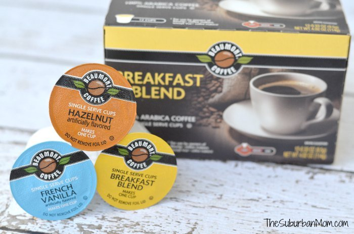 One Cup Coffee Maker Aldi : Aldi s Beaumont Single-Serve Coffee Cups = More Joe For Less - TheSuburbanMom