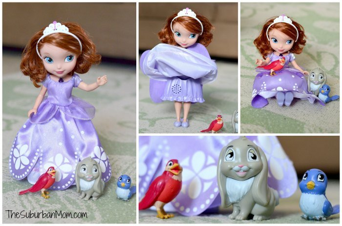 Disney Junior Sofia The First Talking Doll Animal Friends